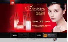 美容化妆品行业网站建设案例